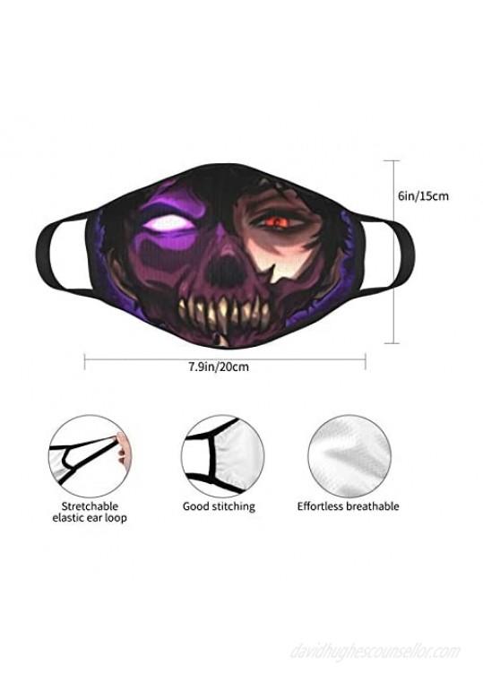 Mask-Corpse Husband Black Border Dust-Proof For Men And Women 2pcs Reusable Washable