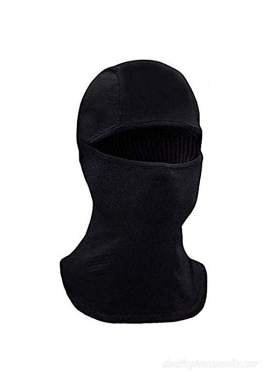 Face Ski Mask Balaclava - Full Face Black Mask for Women & Men – Sun Cold Wind Dust Protection – Moisture Wicking Hypoallergenic