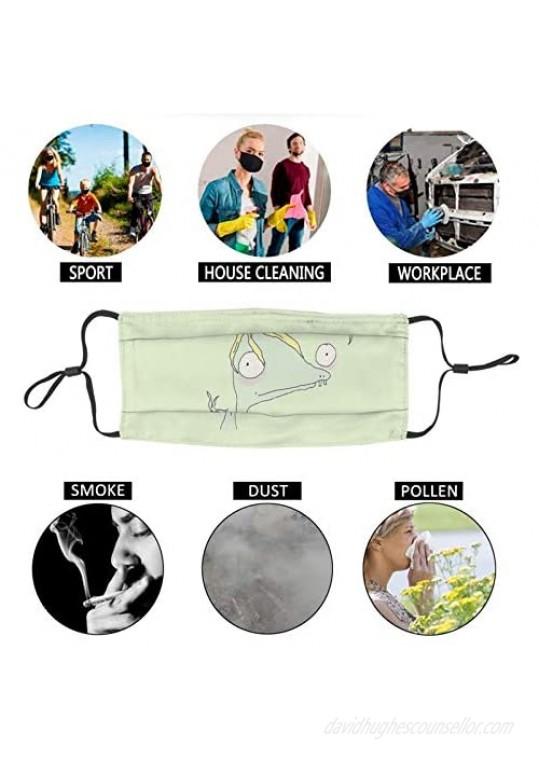 Lidong Masks-Rumple Buttercup by Matthew Gray Gubler Adjustable Washable and Reusable Mask 1 Pcs