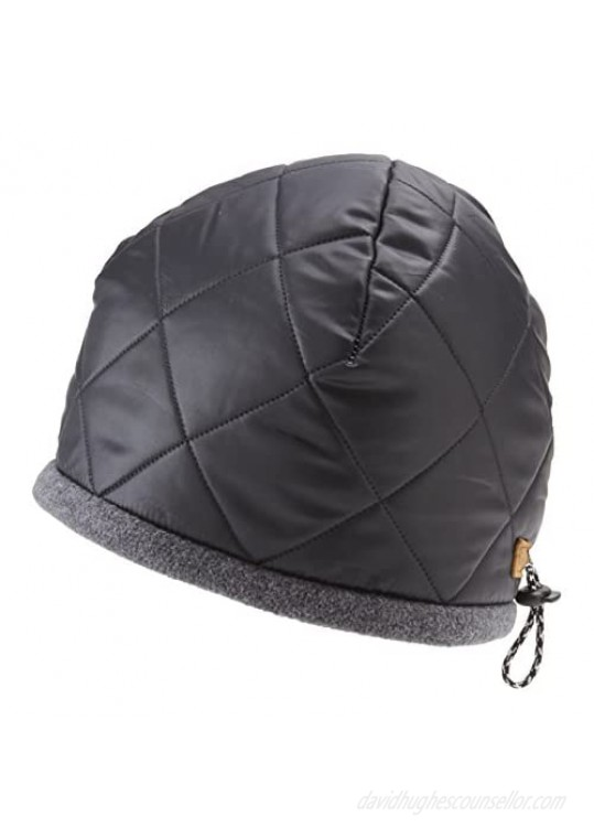 Icebox Knitting Dohm Denali Quilted Nylon Shell and Thermalite Insulation Winter Hat