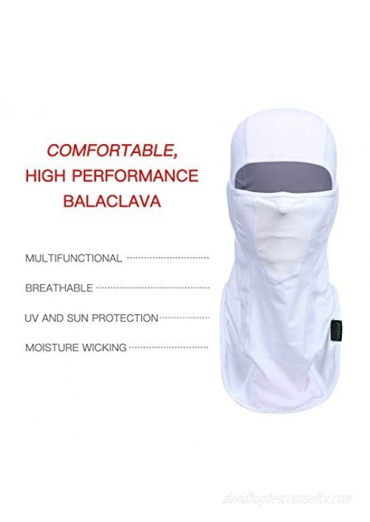 Balaclava - Sun Protection Mask Windproof Breathable Summer Full Face Cover for Cycling Hiking Motorcycle