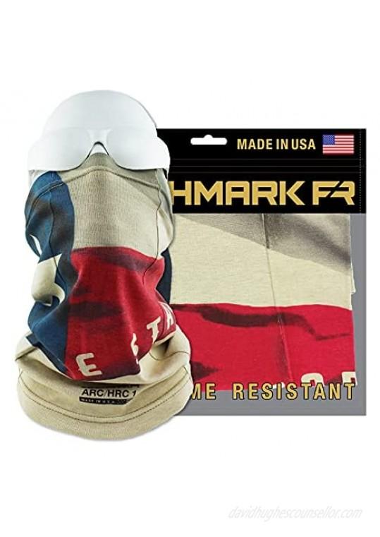 BENCHMARK FR Flame Resistant Face Mask Neck Gaiter One Size Soft FRC