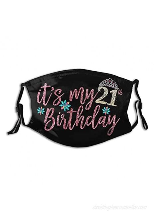 Congratulations On Birthday Birthday Face Mask Funny Mask Fashion Scarf Reusable Balaclavas For Men Women