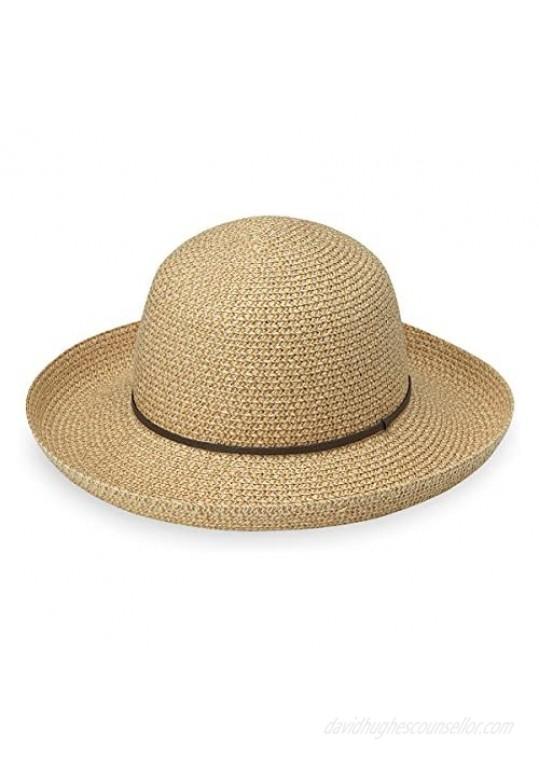 Wallaroo Hat Company Women's Amelia Sun Hat – UPF 50+ Lightweight Packable Modern Style Designed in Australia
