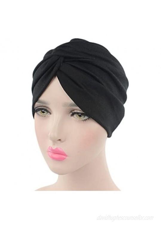 beauty YFJH Chemo Sleep Turban Headwear Scarf Beanie Cap Hat for Cancer Patient Hair Loss