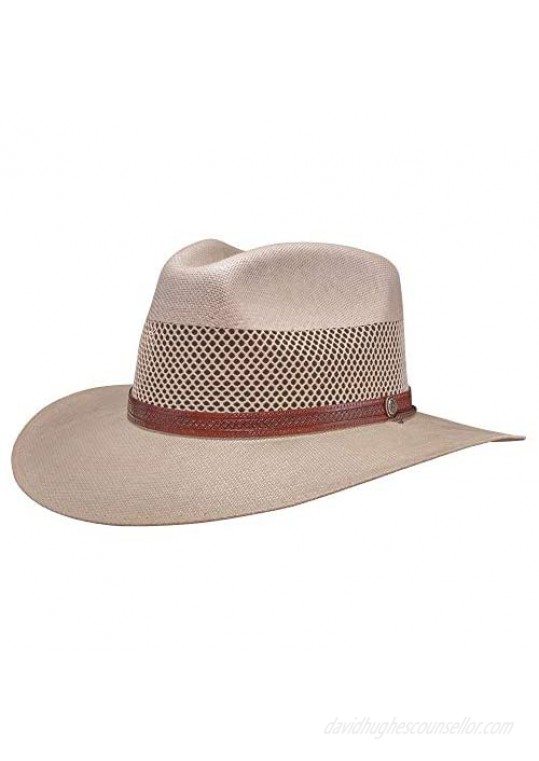 American Hat Makers Florence Straw Sun Hat — Handcrafted Lightweight