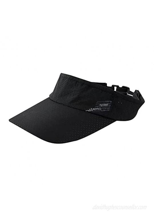 YIWINIAID Sun Visor Sports Sun Hats Visors for Men One Size Visors for Women Adjustable Sun Cap for Indoor Outdoor.