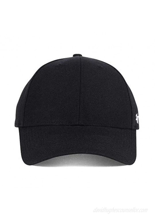 '47 Blank Classic MVP Cap Adjustable Plain Structured Hat for Men and Women – Black