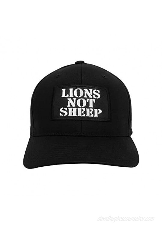 Lions Not Sheep OG Dad Hat - Hats for Men and Women - Hat for Hiking Climbing and Fishing