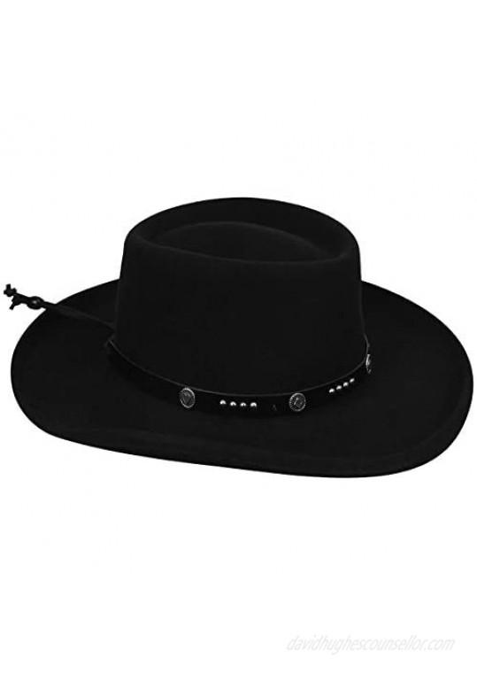 Bailey Western Men Joker Hat Black S