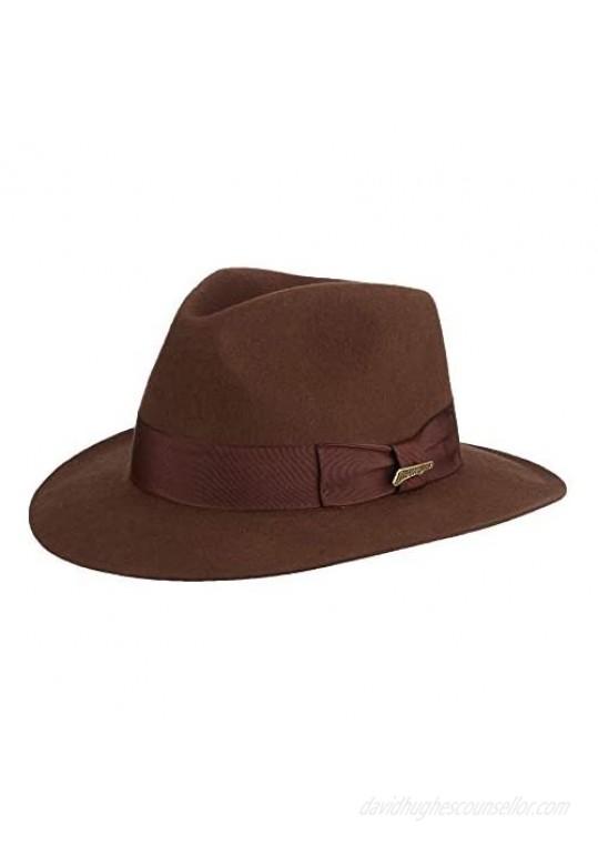 Dorfman Pacific Indiana Jones Men's Wool Felt Fedora