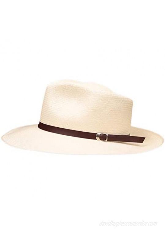Leather Panama Hat Band - (Half Inch)