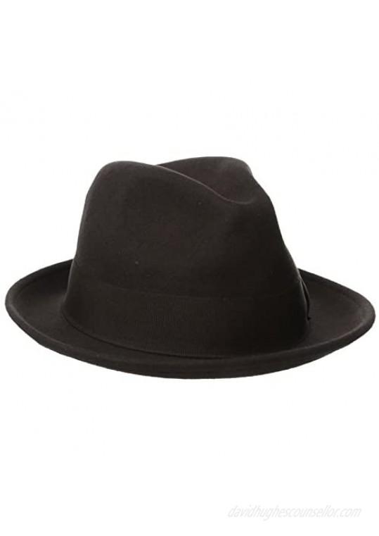 Stacy Adams Men's Wool Felt Pinch Front Fedora Hat