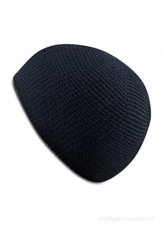 SnugZero - Premium Hand Knit Kufi Style Skullcap Beanie